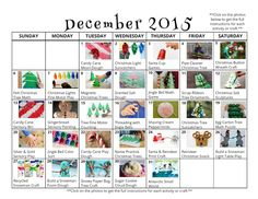 31 December crafts and activities for kids with free downloadable activity calendar from And Next Comes L