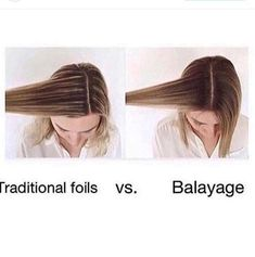 Foil vs Balayage knowing the difference