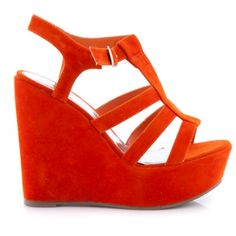Outlet Koturny ACA1 Orange Suede