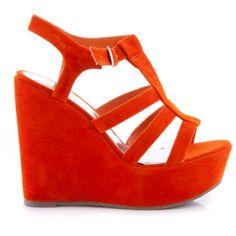 Outlet Koturny ACA1 Orange Suede
