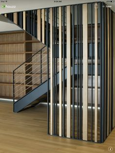 Sunset Overlook - modern - staircase - san francisco - John Lum Architecture Inc. Bamboo Room Divider, Glass Room Divider, Living Room Divider, Room Divider Walls, Fabric Room Dividers, Wooden Room Dividers, Hanging Room Dividers, Folding Room Dividers, Wall Dividers