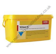 Virkon S Broad Spectrum Disinfectant 5kg - £64.99 ex. VAT #Virkon, #5kg, #Disinfectant