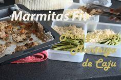 63. Meal Prep / Marmita Fit + Frango Com Molho de Manteiga de Caju