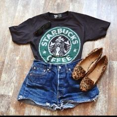 i kinda want this shirt...is that sad Starbucks Uniform dd536dd16