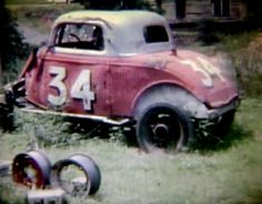 Old dirt track car