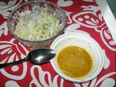 Unsere liebste Salatsoße von MissPlanlos | Chefkoch Vinaigrette, Soup And Salad, Dressings, Oatmeal, Grains, Rice, Breakfast, Food, Leafy Salad