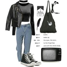 #grunge #softgrunge #indie #rock #punk #alternative #style -A