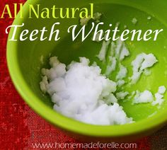 Homemade Teeth Whitening Ideas | DIY Recipe for Natural Teeth Whitening by Makeup Tutorials at http://makeuptutorials.com/whiten-your-teeth-naturally/