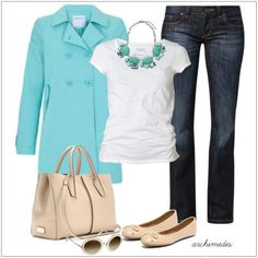 CHATA'S DAILY TIP: A fabulous Casual/Friday style option! Opt for double breasted styles if you are tall and slim; opt for single breasted styles if you are short with a fuller shape to your figure. COPY CREDIT: Chata Romano Image Consultant, Dotti von Ulmenstein http://chataromano.com/consultant/dotti-von-ulmenstein/ IMAGE CREDIT: Pinterest