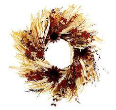Sunflower Coffee Wreath