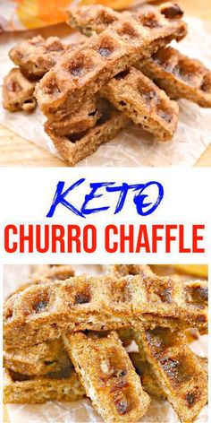 {Keto Chaffles} Tasty & easy low carb keto chaffle recipe. Quick & yummy churro chaffle for simple keto breakfast, snack, keto desserts, keto lunch or keto dinner. Learn how to make keto chaffles w/ these easy ketogenic diet recipe - cinnamon sugar churro chaffles. Skip the fast food, take out or delievery & make this homemade low carb keto chaffle idea - keto sugar cinnamon churro chaffle. Check out this favorite keto food recipe :) #lowcarbrecipe