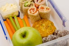 Art needing healthy lunch ideas for my School Teacher Hubby, this looks good recipes Lunch Snacks, Healthy Snacks, Healthy Eating, Healthy Recipes, Lunch Box, Healthy Life, Lunch Foods, Detox Recipes, Clean Eating