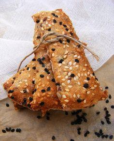 Hungarian Recipes, Hungarian Food, Salty Snacks, Cooking Recipes, Healthy Recipes, Low Sugar, Crackers, Vegan Vegetarian, Food And Drink