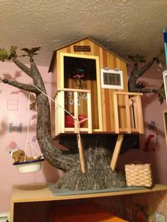 American girl tree house diy