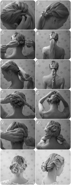 www.elvirall.blogg.se    girly, hairstyle,updo,braided updo,long hair,blonde,DIY hairstyle