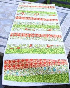 Quilt as You Go Patterns � Table Runners