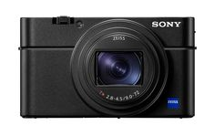 The Sony VII is the company's latest pocketable sensor compact. It uses the same equivalent lens as its predecessor but features a more capable, easier-to-use autofocus system. Appareil Photo Reflex, Canon Eos, Wi Fi, Usb Stick, Sony Camera, Canon Cameras, Nikon Dslr, Digital Cameras, Water Photography
