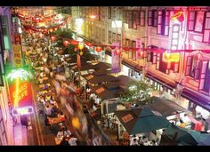 Don't miss hawker centers... the street food of Singapore.
