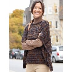 Free Intermediate Women's Shawl Knit Pattern