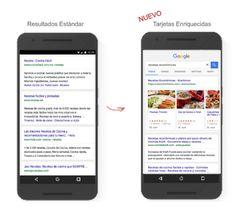 #Buscadores #busquedas #Internet Google expande la disponibilidad de las tarjetas enriquecidas a nivel global