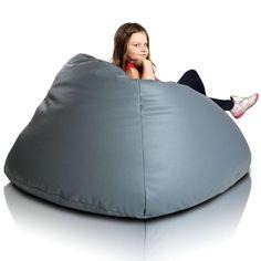 Relax XL babzsákfotel - szürke Bean Bag Chair, Relax, Big, Furniture, Home Decor, Decoration Home, Room Decor, Beanbag Chair, Home Furnishings