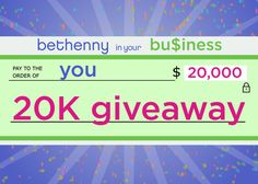 Bethenny's Life-Changing $20K Giveaway: Send in Your Business Idea!