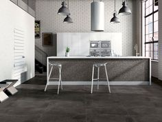 Industry Anthracite Porcelain