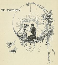 Honeymoon beautiful image from an edwardian bridal book by john r. neill, illustrator and the artist for most of the oz booksbeautiful image from an edwardian bridal book by john r. neill, illustrator and the artist for most of the oz books Art And Illustration, Vintage Illustrations, Art Inspo, Kunst Inspo, John R, Bride Book, Art Design, Oeuvre D'art, Les Oeuvres