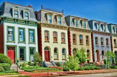 Victorian Townhouses