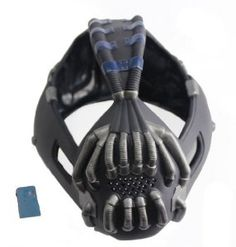 TDKR Batman Bane Mask with Voice Changer,the Newest Version for 2013 Halloween Party Costume for Adult xcoser