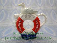 Paul Cardew Design Medium Lifebelt And Gull Teapot