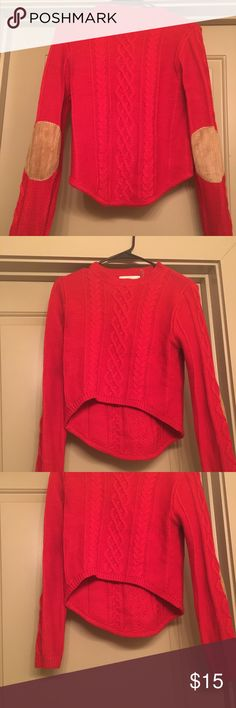 Red sweater Red comfortable and fashionable sweater Sweaters Cardigans