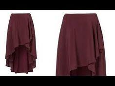 Resultado de imagen para blusas con cola atras de moda y con abertura en el costado