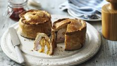 S3W5 Hand-raised chicken and bacon pie GBBO - Paul Hollywood - Recipe - Hot Water Crust Pastry
