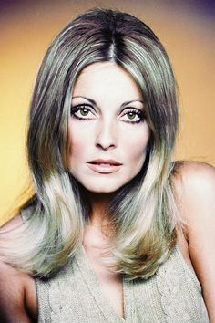 Sharon Tate in a promotional photo for Valley of the Dolls (1967)