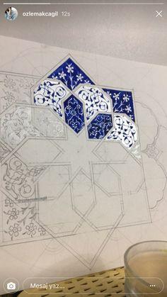 Geometric Islamic Pattern Arabesque grey and white. Islamic Art Pattern, Arabic Pattern, Pattern Art, Islamic Art Calligraphy, Calligraphy Alphabet, Turkish Art, Arabic Art, Geometric Art, Mandala Art