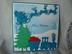 Handmade Christmas Card Xmas Card Religious by CardsbyEileen
