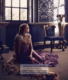 Harrods' modern Disney Princesses - Rapunzel by Jenny Packham