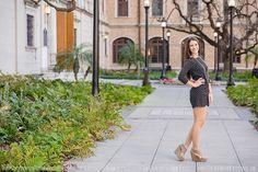 Houston Senior Photographer / downtown Houston senior photo / Stacy Anderson Photography