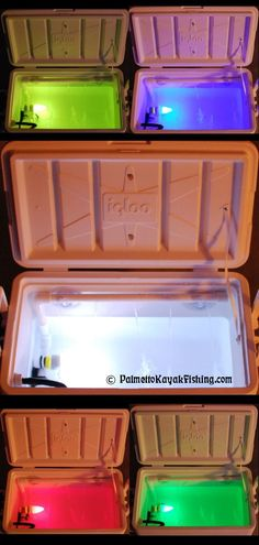 Palmetto Kayak Fishing: Deluxe DIY Kayak Bait Well with Light