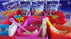 Our Back to #CapriSunSchool Bento lunchbox fun #BentoBabies #CBias #Shop