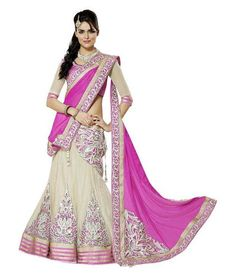 Buy Net Lehenga Saree from #Snapdeal for Rs. 2198 only !! #deal for #ladies at #MadpiggyApp Download now: goo.gl/xXtOSu