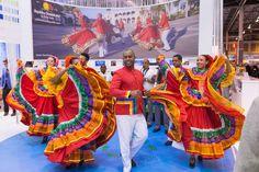 Stand República Dominicana durante la Feria Internacional de Turismo en IFEMA 2015
