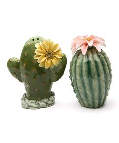 Cactus Salt & Pepper Shakers