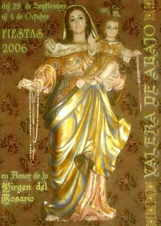 Fiestas de Valera de Abajo (Cuenca), en honor de la Virgen del Rosario. Del 29 de septiembre al 4 de octubre de 2006. #Fiestaspopulares #ValeradeAbajo #Cuenca