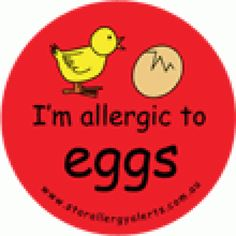 no eggs!