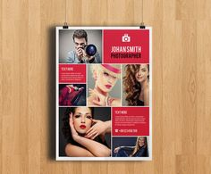 Professional Photography Flyer Template Elegant by TemplateStock