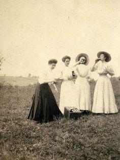 Stone's Cottage camping trip circa 1910. Pennsylvania