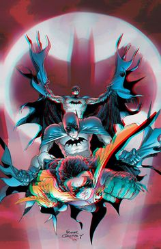 Batman and Robin 3D Anaglyph by xmancyclops on deviantART.......  !!!!
