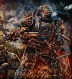 ArtStation - Fallout - art for Rev online, Konstantin Gudym